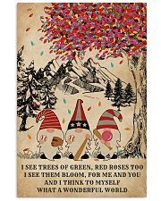 Baseball Gnomes I See Trees Of Green 11x17 Poster front
