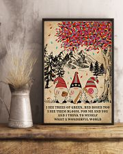 Baseball Gnomes I See Trees Of Green 11x17 Poster lifestyle-poster-3