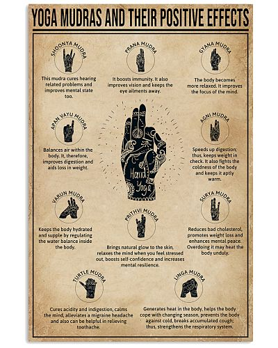 Yoga Mudras And Their Positive Effects
