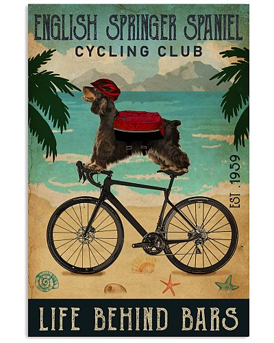 Cycling Club English Springer Spaniel