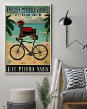 Cycling Club English Springer Spaniel 11x17 Poster lifestyle-poster-1