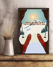 And Into The Snow I Go To Lose My Mind Skiing 11x17 Poster lifestyle-poster-3