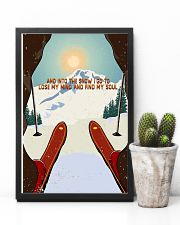 And Into The Snow I Go To Lose My Mind Skiing 11x17 Poster lifestyle-poster-8