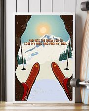 And Into The Snow I Go To Lose My Mind Skiing 16x24 Poster lifestyle-poster-4