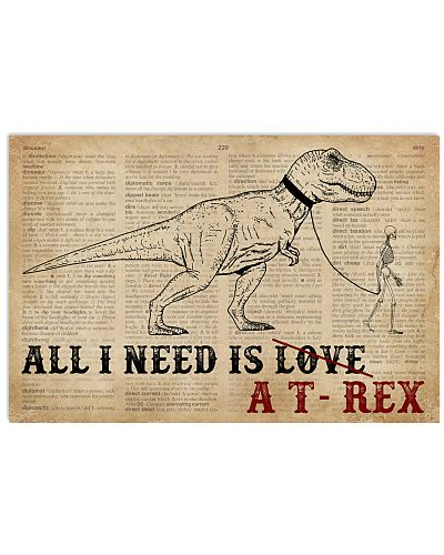 Dictionary Page All I Need Is A T-Rex