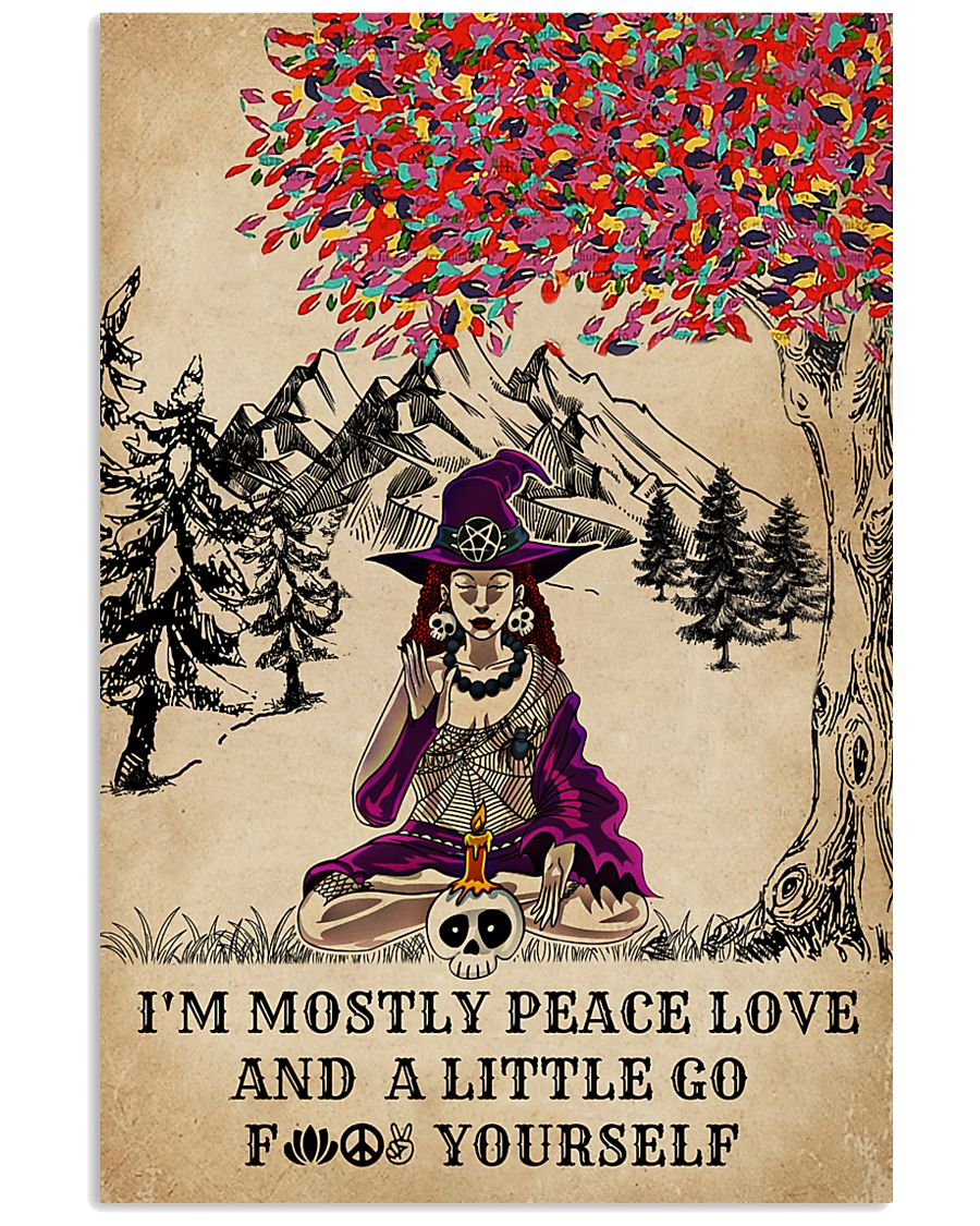 Witch Yoga And Litter Go Yourself 11x17 Poster