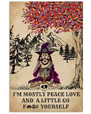 Witch Yoga And Litter Go Yourself 11x17 Poster front
