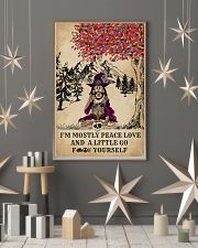 Witch Yoga And Litter Go Yourself 11x17 Poster lifestyle-holiday-poster-1