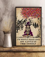 Witch Yoga And Litter Go Yourself 11x17 Poster lifestyle-poster-3