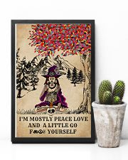 Witch Yoga And Litter Go Yourself 11x17 Poster lifestyle-poster-8