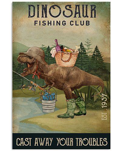 Fishing Cast Away Dinosaur