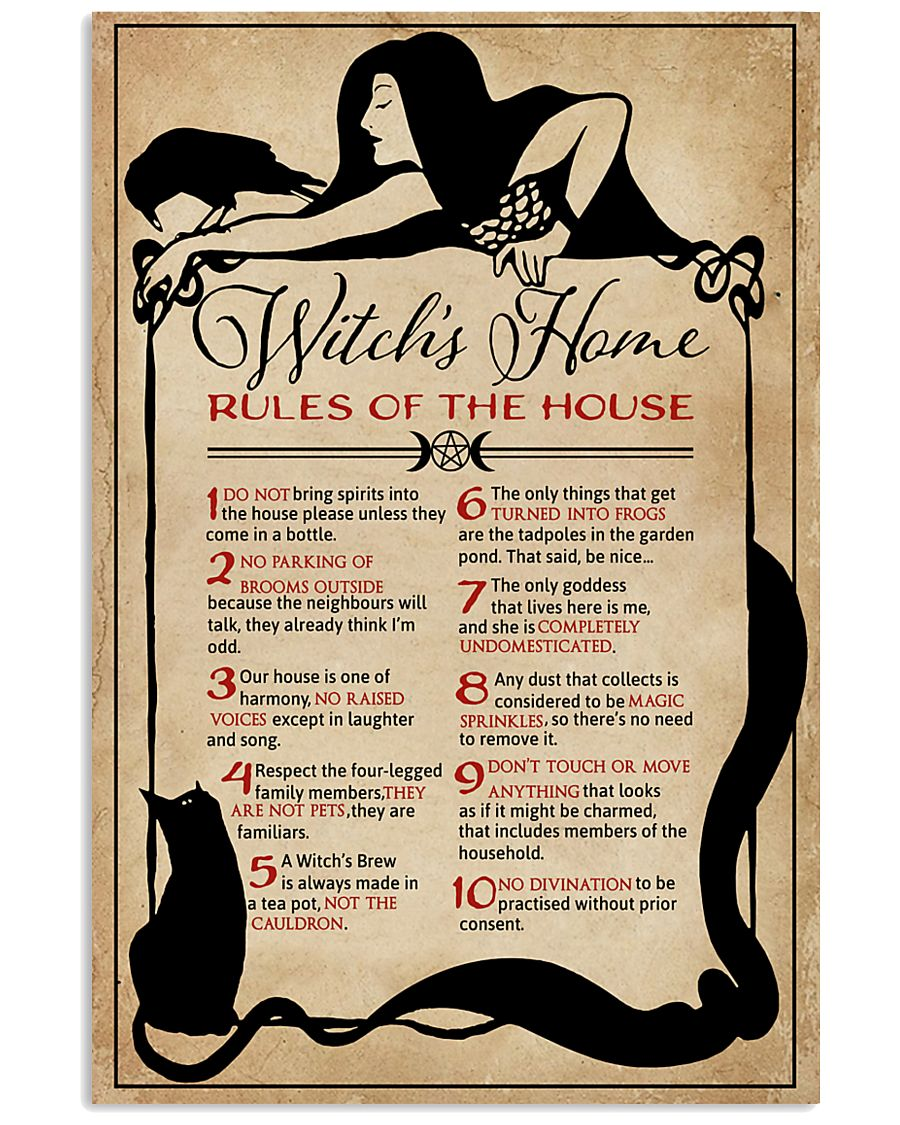 Witch House Rule 11x17 Poster