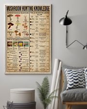 Mushroom Hunting Knowledge 11x17 Poster lifestyle-poster-1