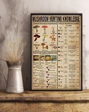 Mushroom Hunting Knowledge 11x17 Poster lifestyle-poster-3