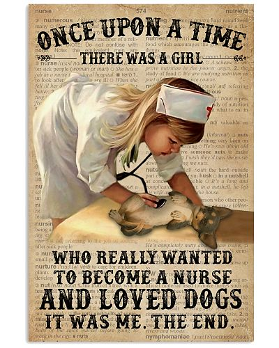Baby Girl Nurse And Dog Chihuahua