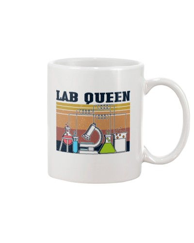 Retro Navy Scientist Lab Queen