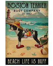 Vintage Buoy Company Boston Terrier 11x17 Poster front