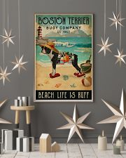 Vintage Buoy Company Boston Terrier 11x17 Poster lifestyle-holiday-poster-1