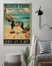 Vintage Buoy Company Boston Terrier 11x17 Poster lifestyle-poster-1