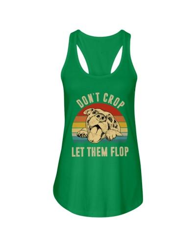 Don't Crop Let Them Flop Pitbull