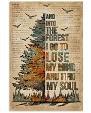 Dictionary Camping And Into The Forest 11x17 Poster front