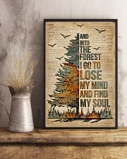 Dictionary Camping And Into The Forest 11x17 Poster lifestyle-poster-3