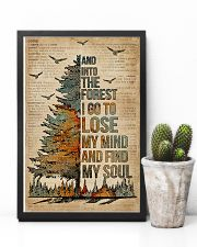 Dictionary Camping And Into The Forest 11x17 Poster lifestyle-poster-8