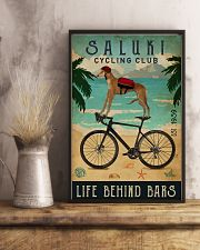 Cycling Club Saluki 11x17 Poster lifestyle-poster-3