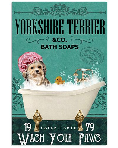 Green Bath Soap Company Yorkshire Terrier