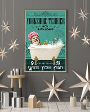 Green Bath Soap Company Yorkshire Terrier 11x17 Poster lifestyle-holiday-poster-1