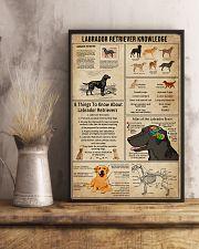Labrador Retriever Knowledge 11x17 Poster lifestyle-poster-3
