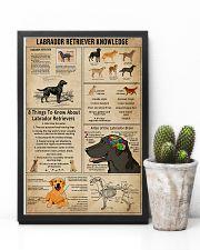 Labrador Retriever Knowledge 11x17 Poster lifestyle-poster-8