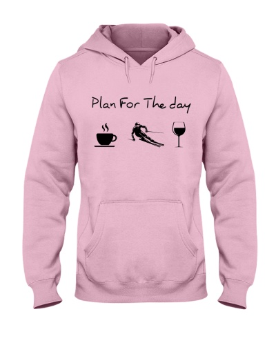 Plan For The Day Skiing