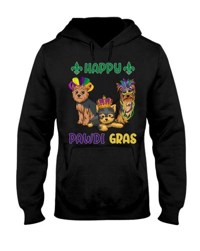 Happy Pawdi Gras Yorkshire Terrier