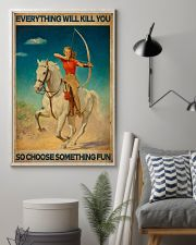 Archery Everything Will Kill You 16x24 Poster lifestyle-poster-1