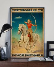 Archery Everything Will Kill You 16x24 Poster lifestyle-poster-2