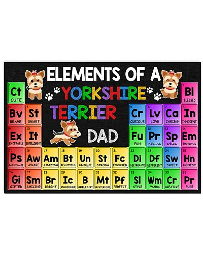 Elements Of A Yorkshire Terrier Dad