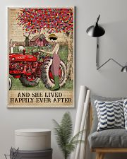 Dictionary Lived Happily Farm Girl 11x17 Poster lifestyle-poster-1
