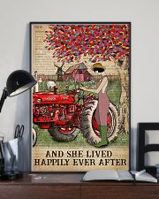 Dictionary Lived Happily Farm Girl 11x17 Poster lifestyle-poster-2