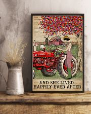 Dictionary Lived Happily Farm Girl 11x17 Poster lifestyle-poster-3