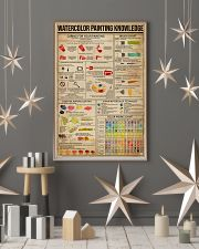 Watercolor Painting Knowledge 11x17 Poster lifestyle-holiday-poster-1