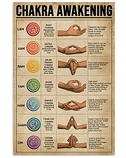 Chakra Awakening Knowledge Yoga 16x24 Poster front