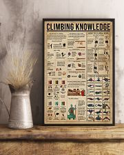 Climbing Knowledge 11x17 Poster lifestyle-poster-3