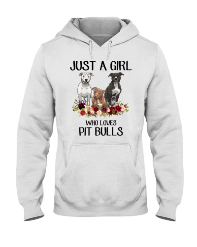 Just A Girl Who Loves Pit Bulls