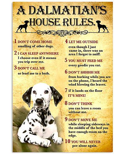 Dalmatian House Rules