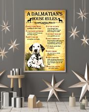 Dalmatian House Rules 11x17 Poster lifestyle-holiday-poster-1