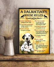 Dalmatian House Rules 11x17 Poster lifestyle-poster-3
