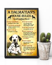 Dalmatian House Rules 11x17 Poster lifestyle-poster-8