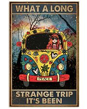 What A Long Strange Trip It's Been Hippie 16x24 Poster front