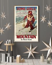 Some Girls Born With The Mountain Skiing 16x24 Poster lifestyle-holiday-poster-1